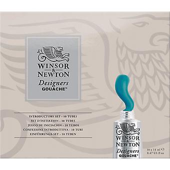 Winsor & Newton designers gouache intro set 10 x 14ml