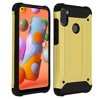 Defender II Series Protection Case Samsung Galaxy A11, Drop proof (1,80m) - Or