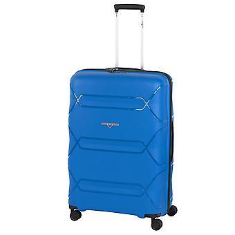 Hardware Tokyo Trolley L, 4 Rollen, 75 cm, 94  L, Blau