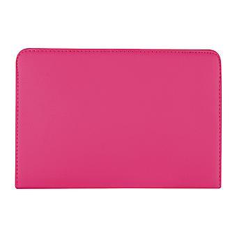 PU bőrtok 360 Forgó Samsung Galaxy Tab A 8 T350 8 & [Hot Pink]