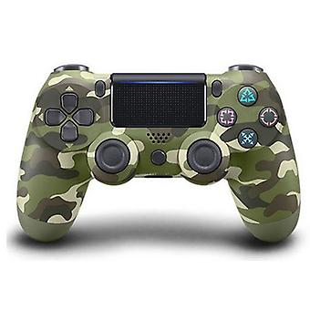 Green Camo Wireless Bluetooth PS4 PlayStation 4 GamePad Controller