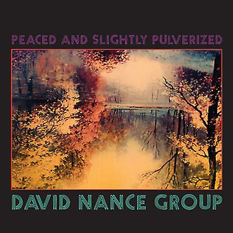 David Nance - Peaced & Slightly Pulverized [CD] USA import