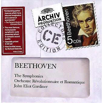 John Eliot Gardiner - Beethoven: The Symphonies [CD] USA import