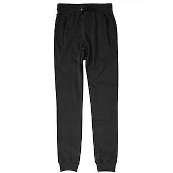 Antony Morato Black Plaque Logo Tracksuit Pants