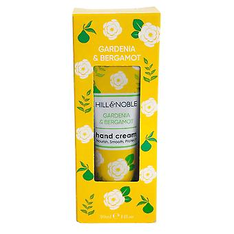 Hill & Noble Hill and Noble Hand Cream Nourish, Smooth, Protect 30ml Gardenia and Bergamot