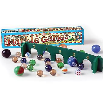 Traditional Marbles Games Set for the Whole Family - Boxed Gift