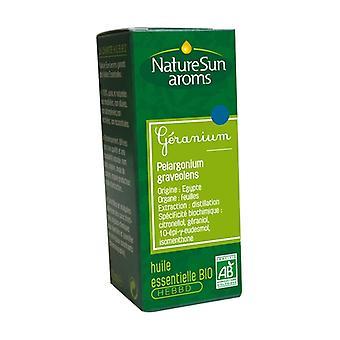 Organic Geranium essential oil 10 ml of essential oil