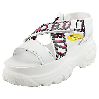 Buffalo Bo Womens Platform Sandals in White
