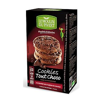 Cocoa cookies with chocolate chips 5 units of 35g