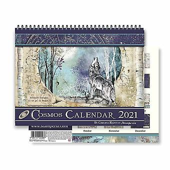 Stamperia Calendar 2021 Cosmos