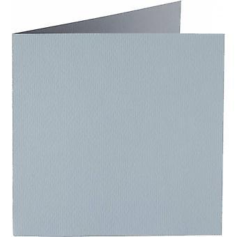 Papicolor 6X Tarjeta Doble 132X132mm Nube-Gris