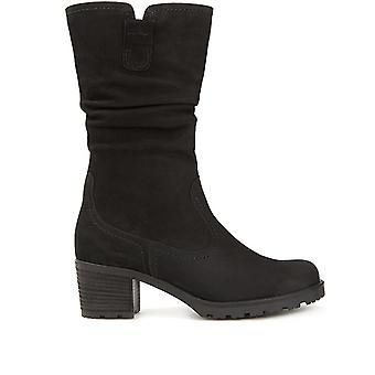 Gabor Femmes Mi-Calf Leather Boot