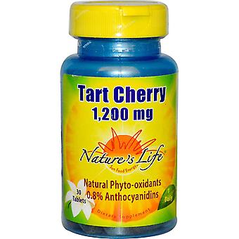 Nature's Life, Tart Cherry, 1,200 mg, 30 Tablets