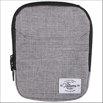 Tatami grey messenger bag