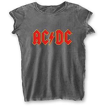 Naisten Ac/ Dc Logo Virallinen Tee T-paita Nainen