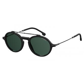 Sunglasses Unisex 195/S black with green glass