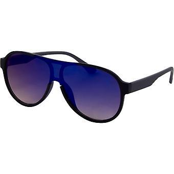 Sonnenbrille Unisex Trend    matt schwarz/grau (4210)