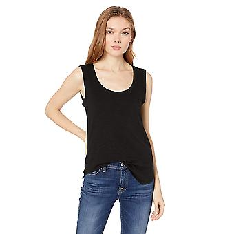 Brand - Daily Ritual Women's Lightweight Lived-In Cotton Scoop Neck Muscle T-Shirt