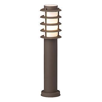 BRILLIANT Lamp Oskar Outdoor Base Lamp 51cm Roestkleurig | 1x A60, E27, 20W, geschikt voor normale lampen (niet inbegrepen)
