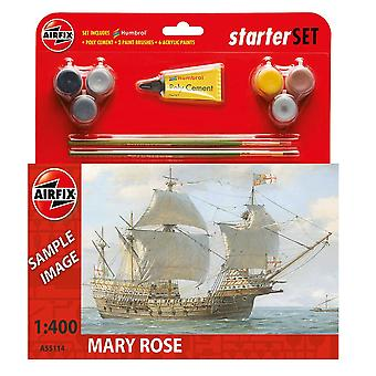 Airfix A55114 Mary Rose Scale 1:400 Starter Set Model Kit