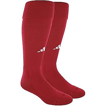 Adidas Field Soccer All Sport Sock (1-Pair) University Red / White 9-13 LG