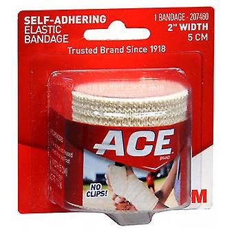 Ace Self-Adhering Elastic Bandage, 2 inches 1 each