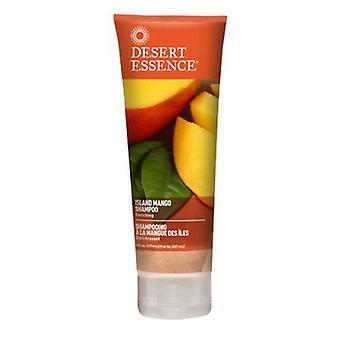 Desert Essence Island Mango Shampoo, 8 Oz