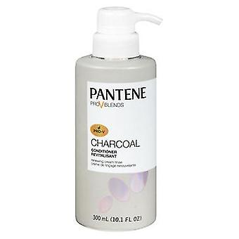 Pantene Prov Blends Charcoal Renewing Cream Rinse Conditioner, 10.1 Each