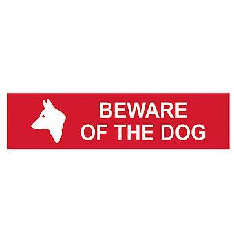 Scan Méfiez-vous du chien - PVC 200 x 50mm SCA5251
