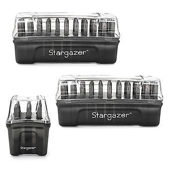ImpressArt 2mm Stargazer Font 75 pc. Volledige postzegelcollectie voor stempelen