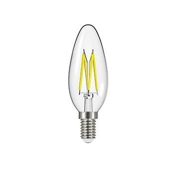 Energizer LED SES (E14) Candle Filament Non-Dimmable Bulb Warm White 250 lm 2.4W