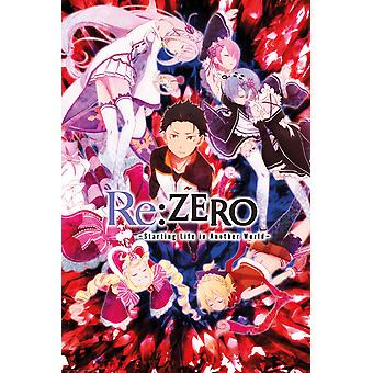 Re:Zero Key Art Maxi Poster 61x91.5cm