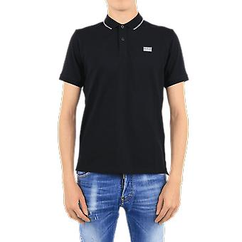 C.P.Company Polo - Short Sleeve Black 09CKPL013005263W999 Top Black C.P.Company accessories
