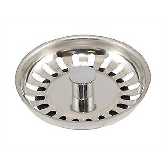 London & Lancashire Sink Strainer Plug Basket With Stem 2068