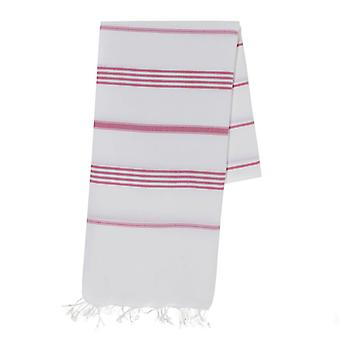 Classic Rose Stripe Turkish Towel