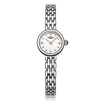 Rotary Classic Stainless Steel Elegant Stones Ladies Watch LB05052/02