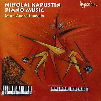 N. Kapustin - Nikolai Kapustin: Piano Music [CD] USA import