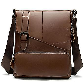 Westal Messenger Shoulder Women / Men Bag Genuine Leather Briefcase Office Work