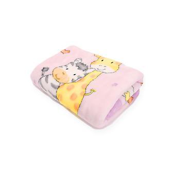 Baby Cuddle Thick Blanket Soft Footmuff Zipper for stroller 90x80cm