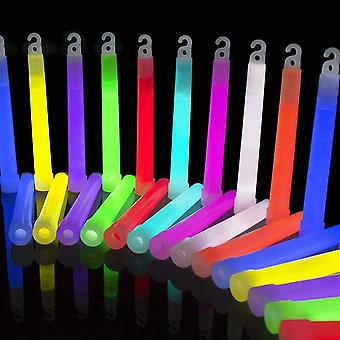 The glowhouse premium ultra bright 6 inch glow sticks mega party pack of 25 (mixed) - individually w