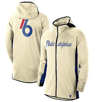 Philadelphia 76ers 201920 Earned Edition Showtime Full Hoodie Top WY135