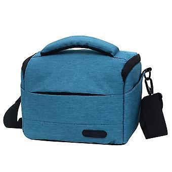Waterproof DSLR Camera Bag for Nikon Canon SONY Panasonic etc Camera, Size:Small(Blue)