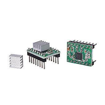 3d Printer Parts A4988 Drv8825 Stepper Motor Driver With Heat Sink