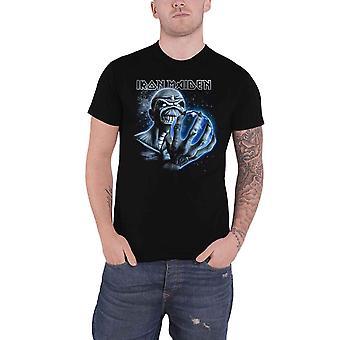 Iron Maiden T Shirt A Different World Album Band Logo Official Mens New Black