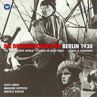 Lenya*Lotte / Dietrich*Marlene - Weill: Threepenny Opera (Dreigroschenoper) [CD] USA import