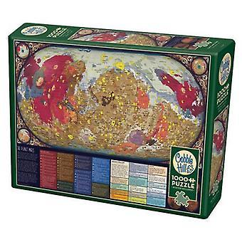 Cobble hill puzzle - the planet mars