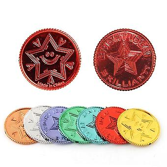 Plastic Pirate Gold Coins For Play Favor Party - Treasure Hunt Game