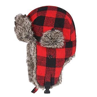 Winddichte vrouwen dikker plaid Russische Ushanka Hat