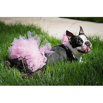 Light Pink Dog Tutu Skirt | Xs-xxxl
