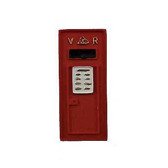 Dolls House Viktoriaaninen Royal Mail Letter Box Seinä Asennettu Miniatyyri